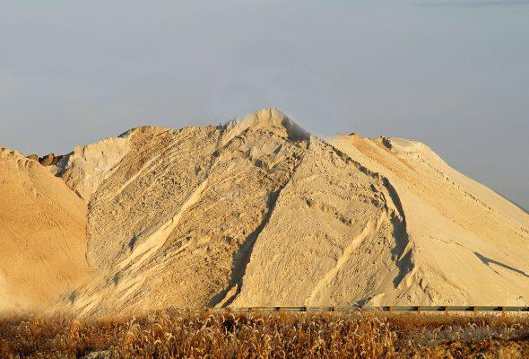 Низкие цены на намывной песок
